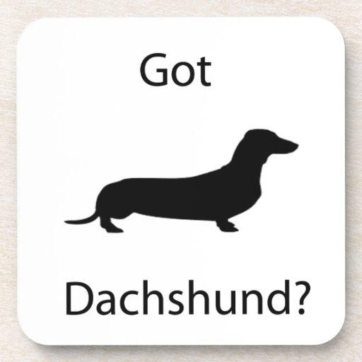 Got Dachshund? Beverage Coaster