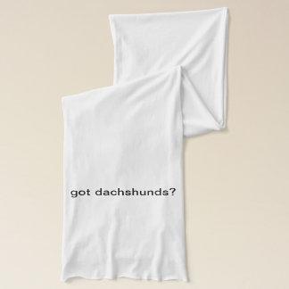 got dachshunds? Jersey Scarf