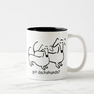got dachshunds mug