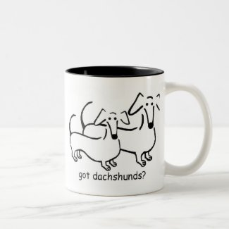 got dachshunds? mug