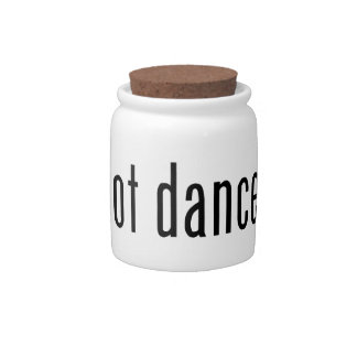 got dance? candy dishes