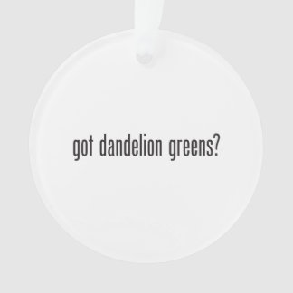 got dandelion greens