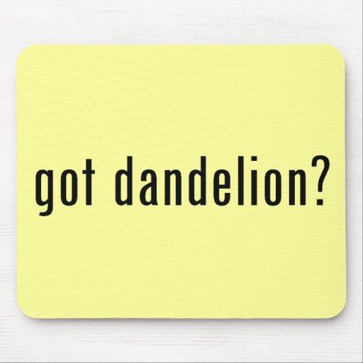 got dandelion? mouse pad