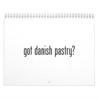got danish pastry calendar