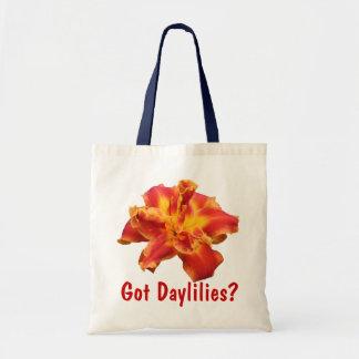 GOT DAYLILIES? TOTE BUDGET TOTE BAG