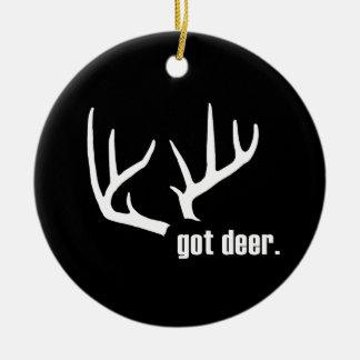 Got deer? Hunter Success Ornaments