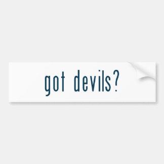 got devils bumper stickers