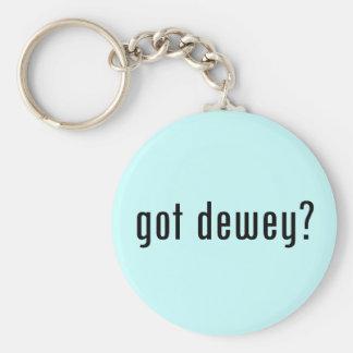 got dewey? keychain