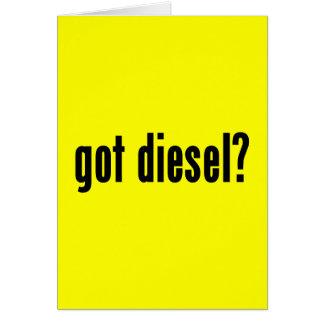 got diesel? card