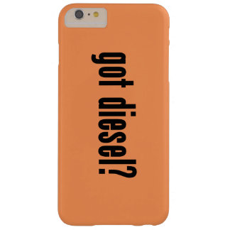 got diesel? barely there iPhone 6 plus case