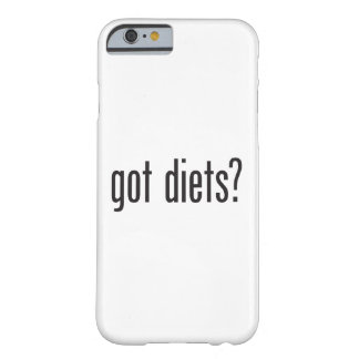 got diets barely there iPhone 6 case