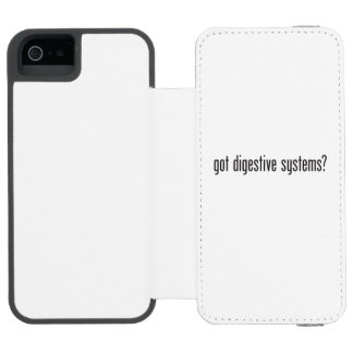 got digestive systems incipio watson™ iPhone 5 wallet case