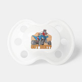 Got Dirt ATV BooginHead Pacifier
