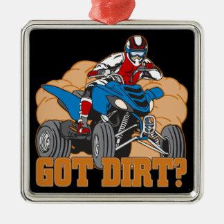 Got Dirt ATV Metal Ornament