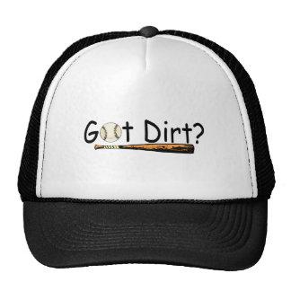 Got Dirt Baseball Trucker Hat