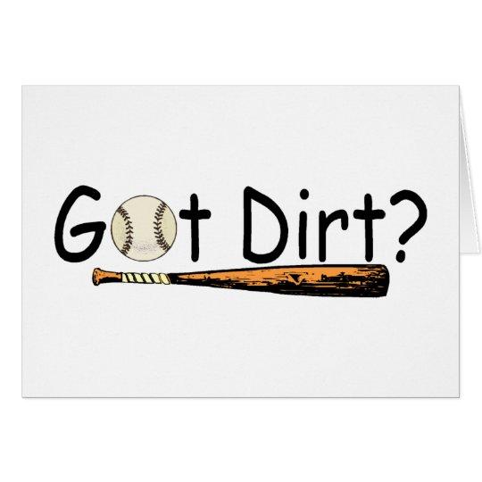 Got Dirt Card