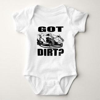Got Dirt? Dirt Modified Racing Baby Bodysuit