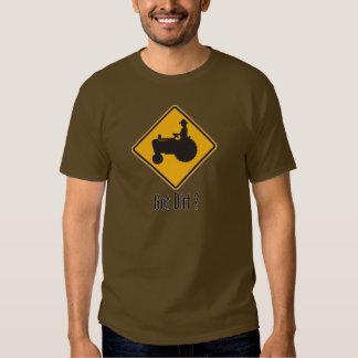 Got Dirt Tractor Gold T Shirts