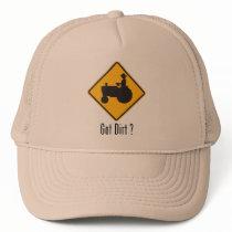 Got Dirt Tractor Gold Trucker Hat
