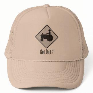 Got Dirt Tractor Grey Trucker Hat