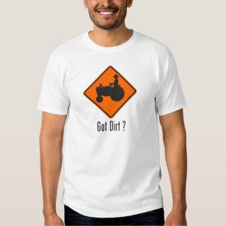 Got Dirt Tractor Orange Shirt
