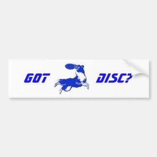 Got Disc? Bumper Sticker