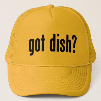 got dish? trucker hat