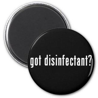got disinfectant? refrigerator magnet