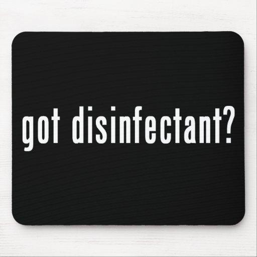 got disinfectant? mouse mats