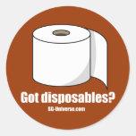 Got Disposables? Sticker