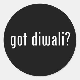 got diwali? round stickers