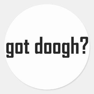 got doogh? classic round sticker