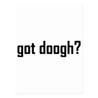 got doogh? postcard