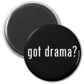 got drama? 2 inch round magnet