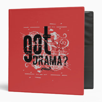 Got Drama? Binder