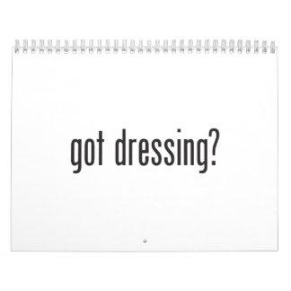 got dressing calendar