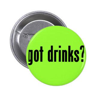 got drinks? pinback button