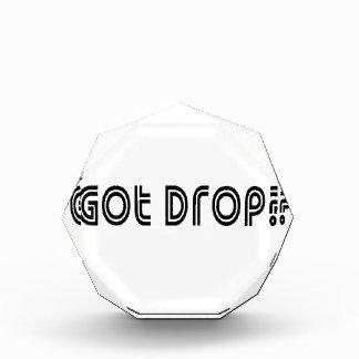 Got Drop Acrylic Award