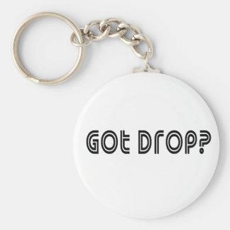 Got Drop Basic Round Button Keychain
