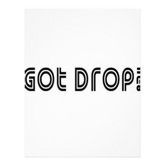 Got Drop Letterhead