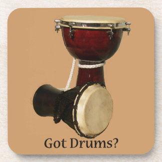 Got Drums? Cork Coasters