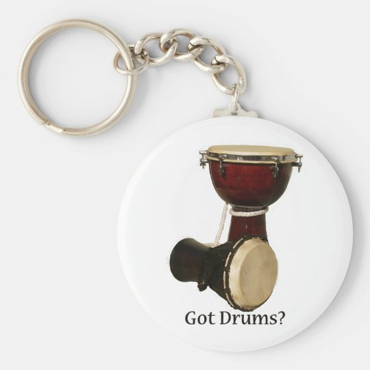 Got Drums Keychain