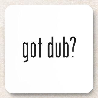 got dub? beverage coaster