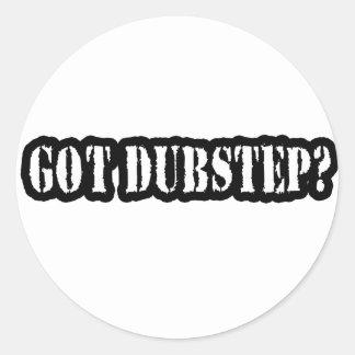 GOT DUBSTEP? CLASSIC ROUND STICKER