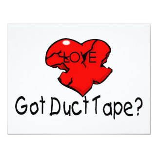 Got Duct Tape Personalized Invite