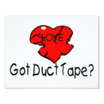 Got Duct Tape Personalized Invitation