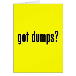 got dumps? card
