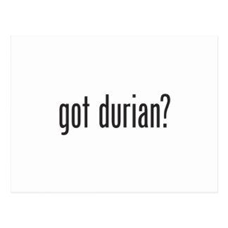 got durian postcard