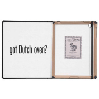 got dutch oven cover for iPad