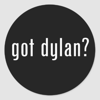 got dylan? sticker